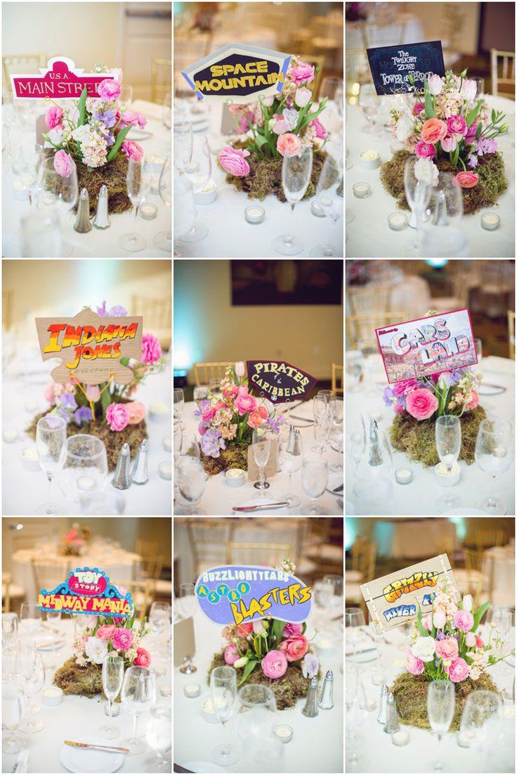 Disney Wedding Decorations