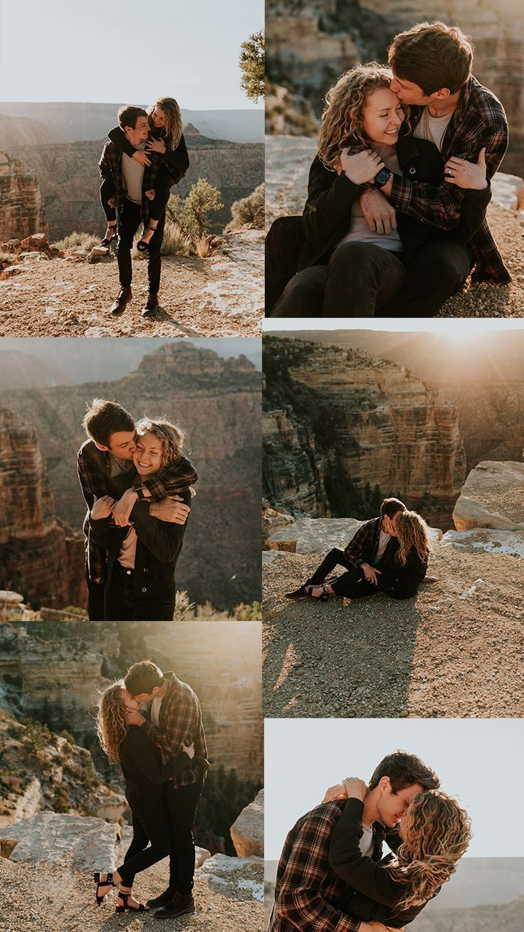 Grand Canyon Couples Shoot – Arizona Adventure Session