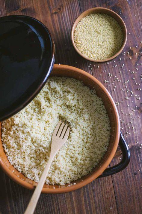 Couscous: La versatilità del #couscous mi lascia sempre senza parole ma con tantissime idee: da assaporare liscio, con verdure, pesce o carne!
