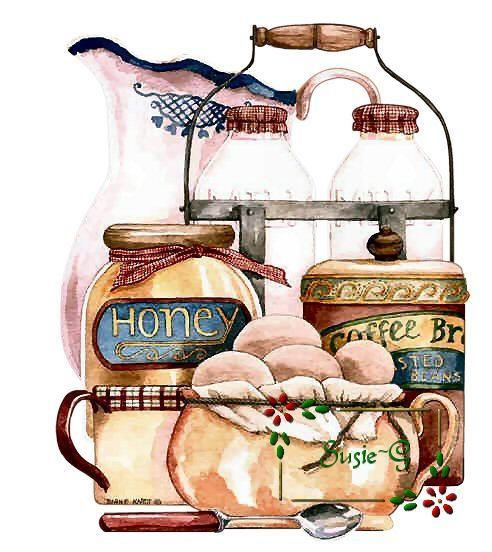 Painting by Diane Knott - published on prints by Bon Art.
