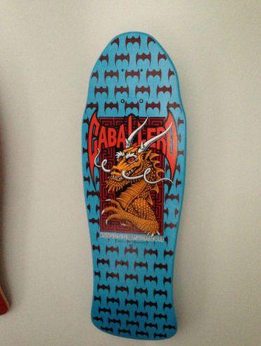 Nos Powell Peralta Steve Caballero Dragon Bats Deck Xt