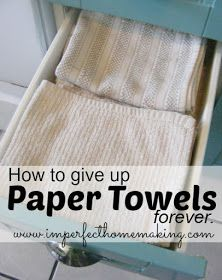 Or at least decrease using them so rapidly! (( grocery and toiletry costs are skyrocketting! ))
