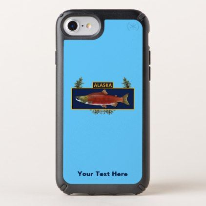 Alaska Combat Fisherman Badge Speck iPhone Case - humor funny fun humour humorous gift idea