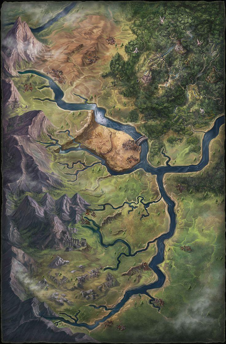 Image result for pathfinder swamp map