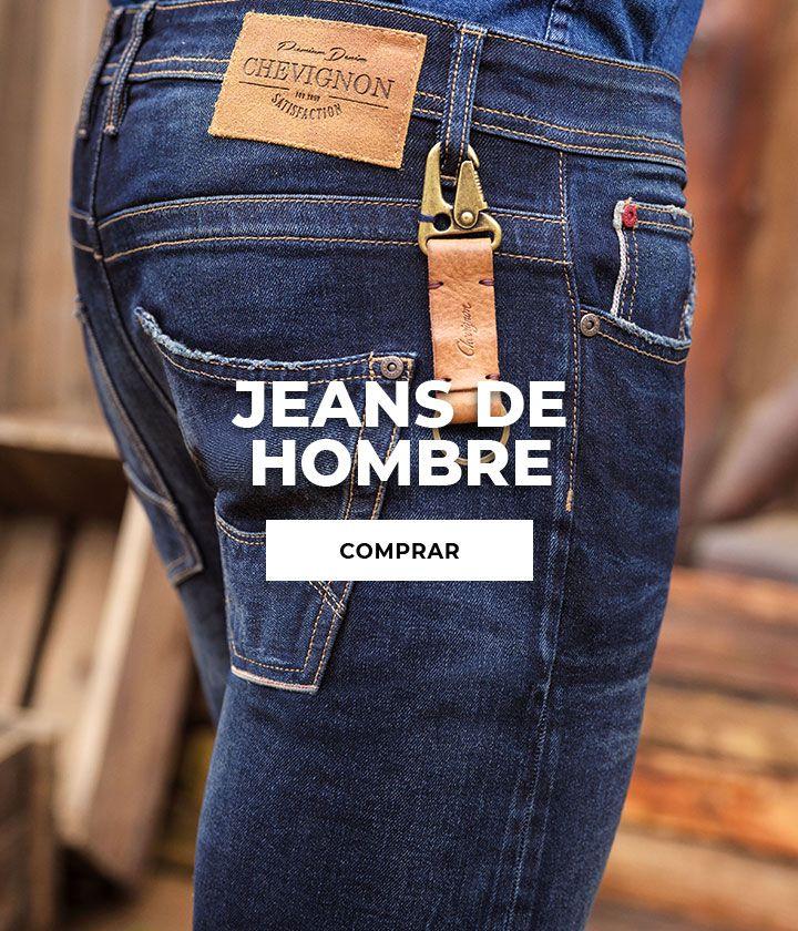 Chevignon Tienda Online Jeans Hombre Ropa Denim