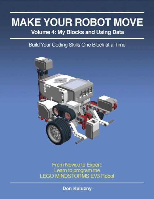 """Available in both iBooks and pdf format, """"Make Your Robot Move"""