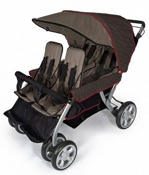 Foundations LX 4 Seat Stroller $489.99  Great stroller for four!