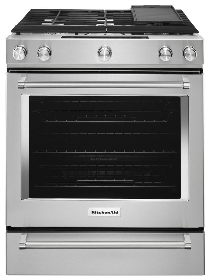 kitchenaid 30-in stainless steel gas cooktop with downdraft exhaust
