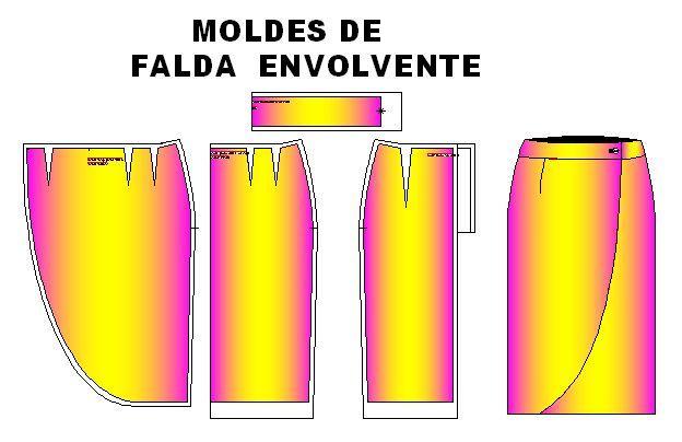 124 best plantillas de moldes de ropa clasica images on for Disenos de faldas
