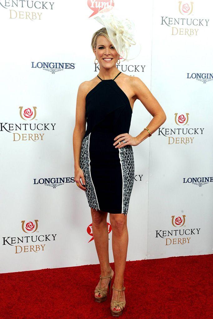 Megyn Kelly Wears Saint Laurent Sandal Heels As Nyquist