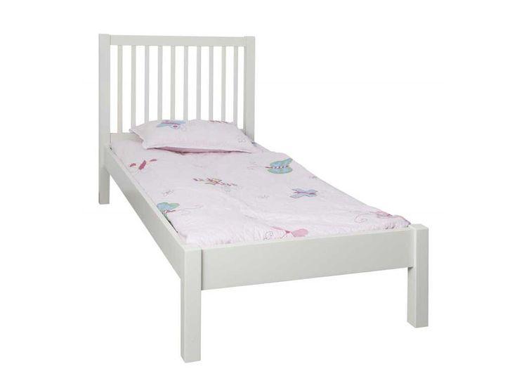 Łóżko białe Skagen 90x200