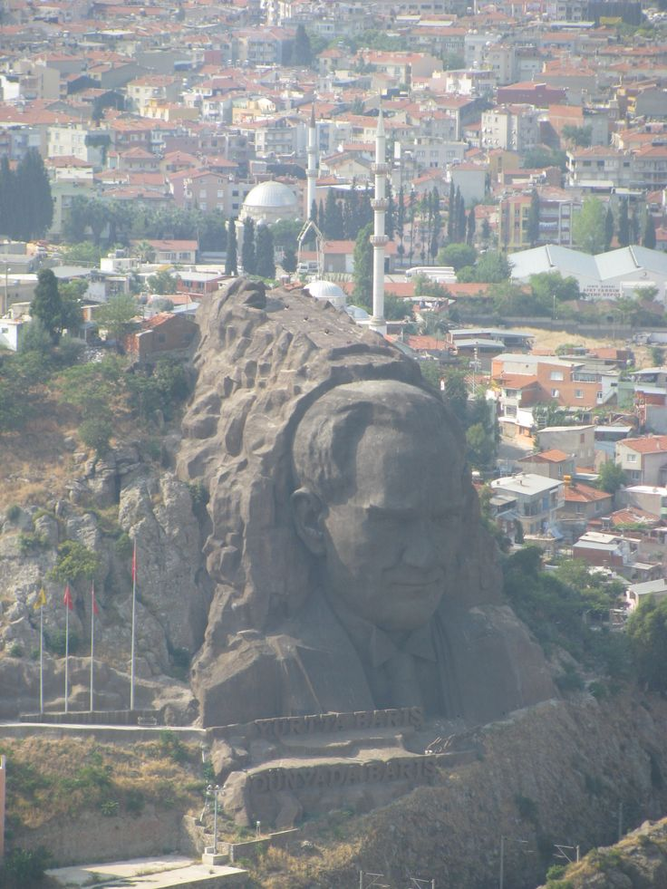 Izmir, Turkey - We saw this statue when we were there a few years ago, with family, visiting Ephesus.