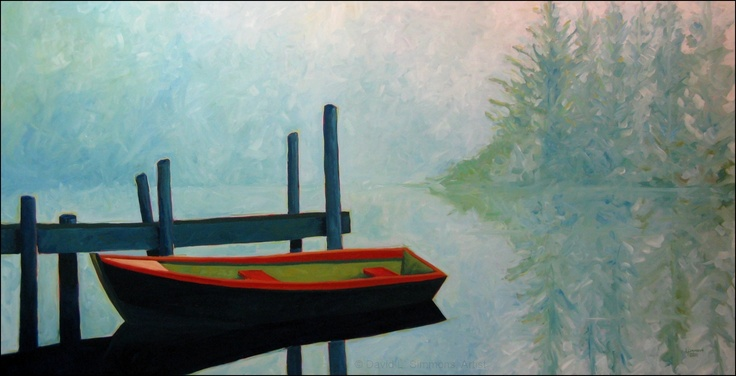 """Nine / Twenty-Three / Eleven""  - Oil on Canvas - 48"" x 94""w (framed) - Price: $6800.00"