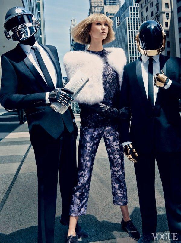 VOGUE - Daft Punk & Karlie Kloss - 5