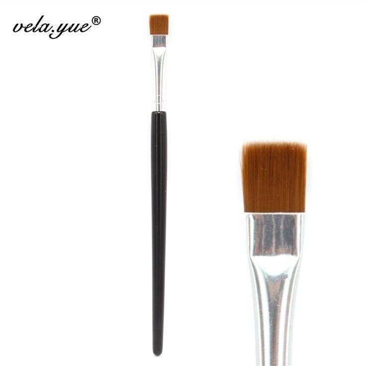 Wholesale 10pcs/lot Flat Definer Brush Eyes Makeup Brush Eyeliner Makeup Tool
