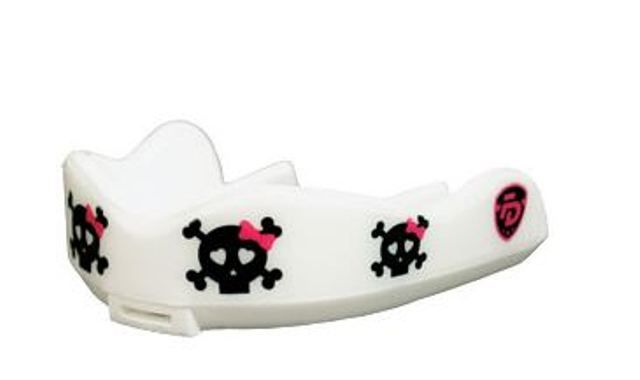 Junior Cute Kills mouthguard from Fight Dentist. Designed smaller to perfectly fit children's and women's mouths. $25.00