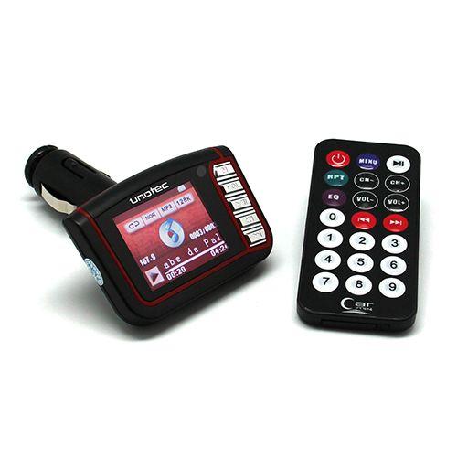 REPRODUCTOR PARA COCHE CON FM MP-FOR-CAR Unotec.Reproductor MP3 y MP4 de música y video para coche con transmisor FM. Disfruta de tu música en la radio de tu coche sin cables y con multiconexión. Dispone de lector de tarjetas SD/SD-HC y lector USB y mando a distancia. Ahora puedes ver las películas y videos que quieras en el coche, sin instalaciones de ningún tipo, conectas el reproductor MP4 a la entrada del mechero del coche y listo.Registrate gratis,nºinvitación 225/ todastuscompras.com