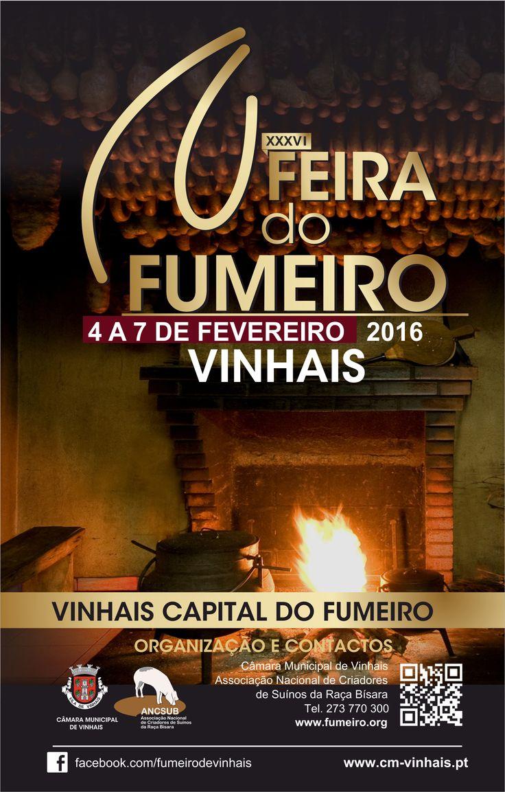 Feira do fumeiro de Vinhais 2016. De 4 a 7 de fevereiro