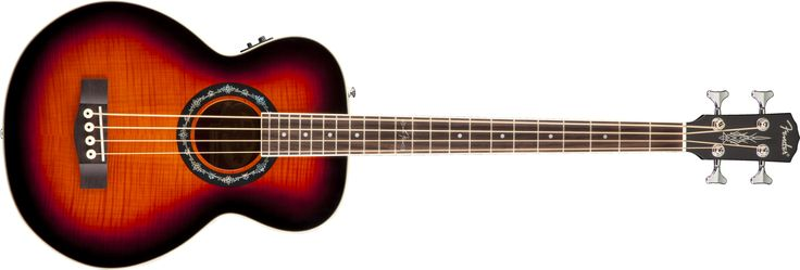 T-Bucket™ Bass E | Grand Concert Acoustic Bass Guitars | Fender® Acoustic Bass Guitars