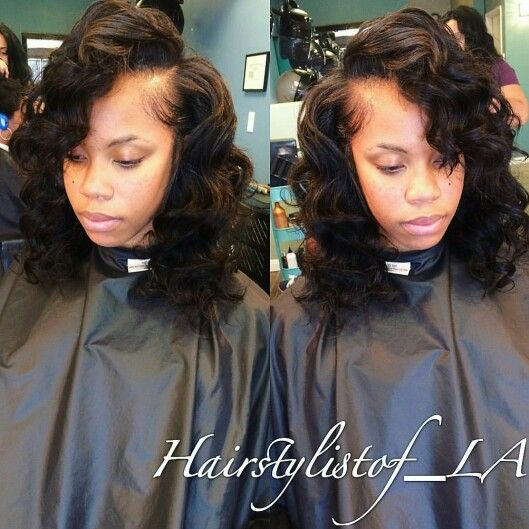 43 best sew ins images on pinterest ea los angeles and curls full head sew in w pmusecretfo Image collections