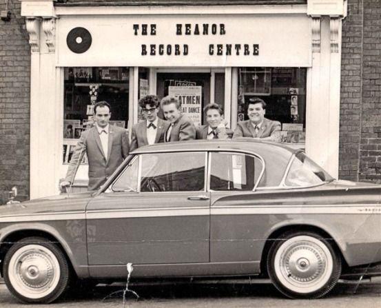 cool car, excellent shop front