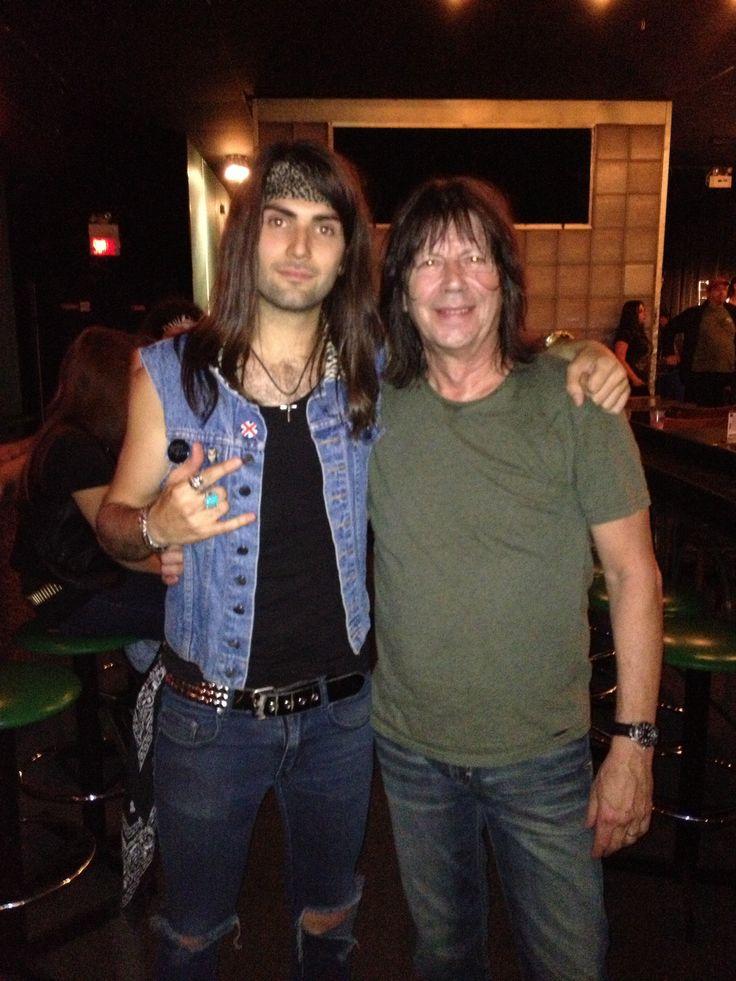 Tony and Pat Travers  Follow us : www.facebook.com/rustedrock  Twitter: @rusted_rock  Instagram : @tonyrust