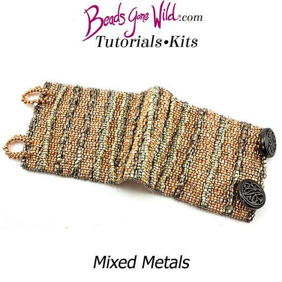 Kit Bracelet métaux mixtes Kit de perles par BeadsGoneWildKits