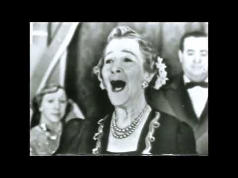 Having Achieving Tremendous Success In 1896 With Her Song Sweet Rosie OGrady 75 Year Old Maude Nugent Performing The On Milton Berle Tv Show