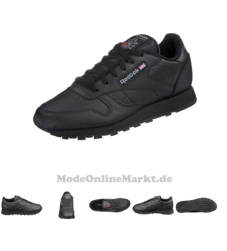 00601352667028 | #Reebok #Classic #Damen #Leather #W #Sneaker #schwarz