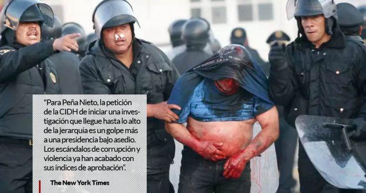 NYT a 10 años del crimen de EPN y Vicente Fox en #Atenco aún siguen sin justicia las mujeres violadas por policías federales