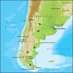 Rondreizen Argentinië - Individuele reizen op maat Argentinië - Tico Reis Consult