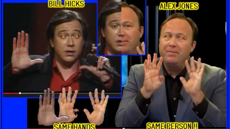 Alex Jones is BillHicks