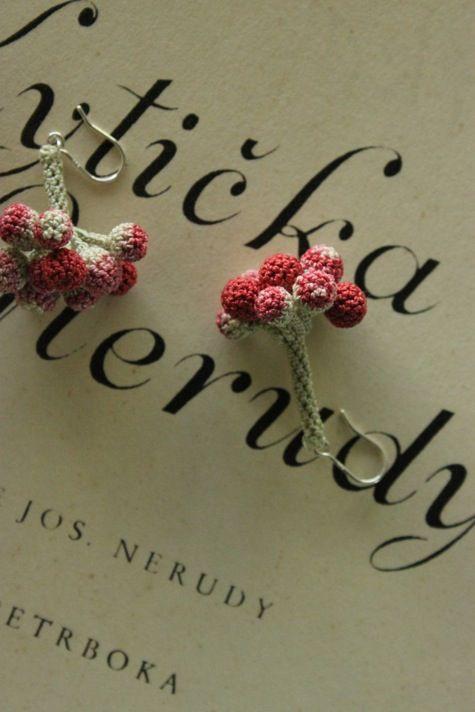 crochet earrings by jung jung