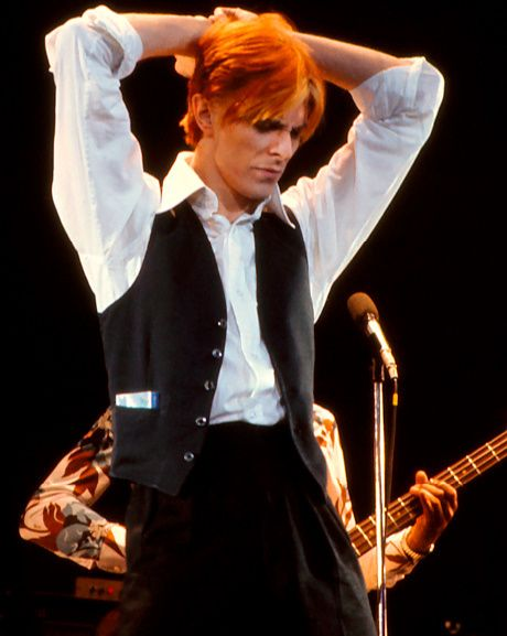 David Bowie's red hair (Low/Man Who Fell To Earth era)