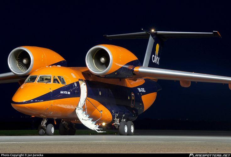 UR-CKC Cavok Airlines Antonov An-74TK 100