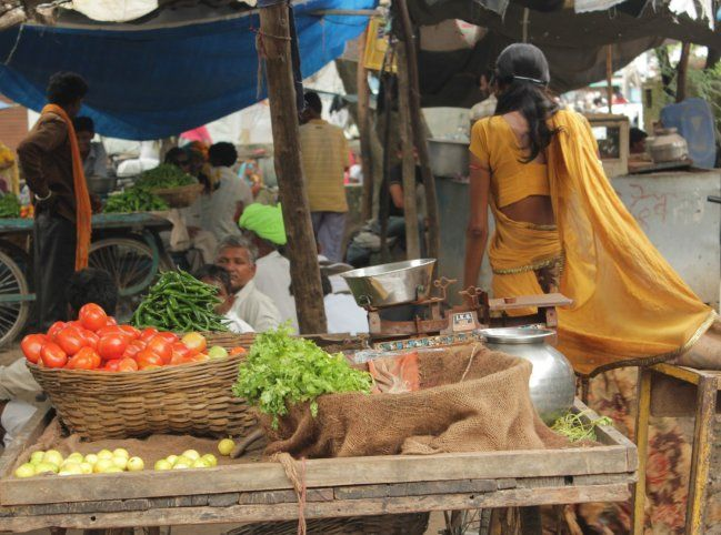At the market, Rajasthan, India #india #travel #Kamalan #culture #photo #food #Rajasthan