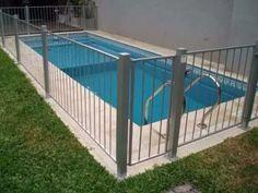 cercos o rejas y cercos para piscinas