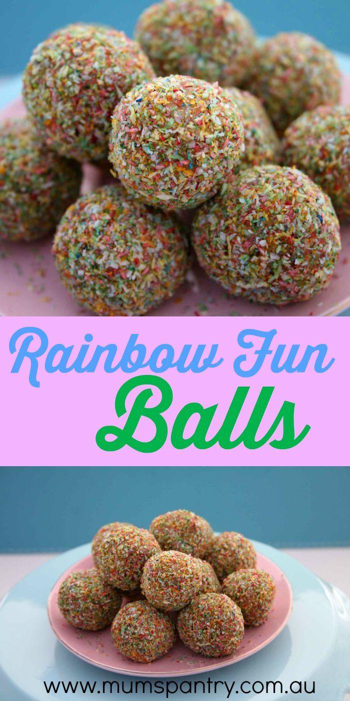 rainbow fun balls