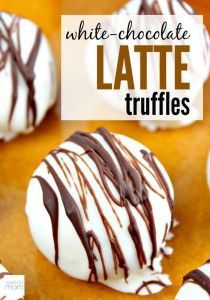 This White-Chocolate Latte Truffles Recipe is special for two reasons - It is wicked easy and it uses instant coffee to give it the right kick.