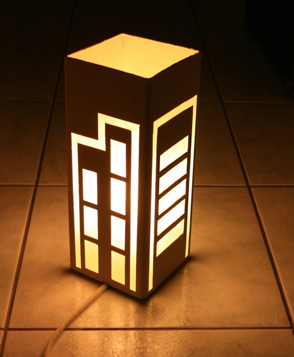 Phosphorus Building Lamp by Ioannis Katsanos, via Behance