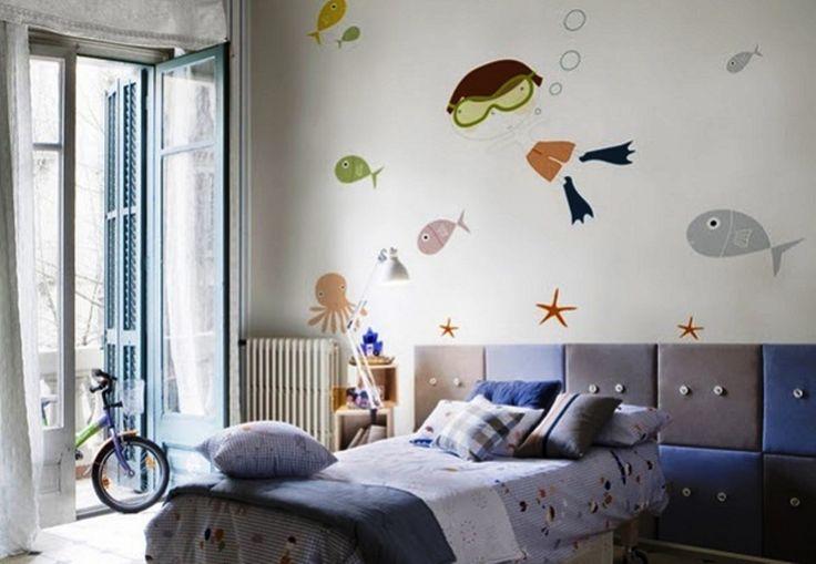 Αγορίστικα παιδικά δωμάτια Για μικρούς άντρες με δυναμικό χαρακτήρα.