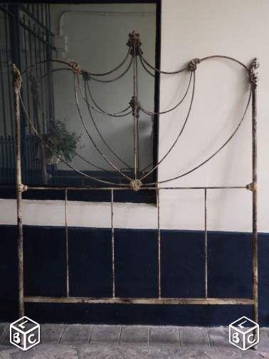 17 meilleures id es propos de lits en fer anciens sur pinterest literie des pays fran ais. Black Bedroom Furniture Sets. Home Design Ideas