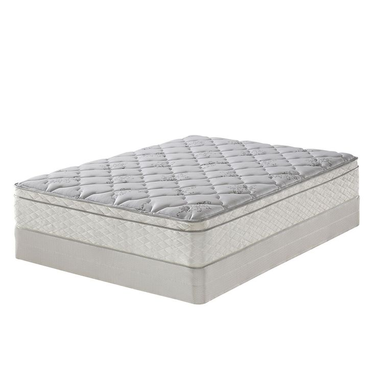 Serta Perfect Sleeper Dunbrook Plush Eurotop Mattress Set