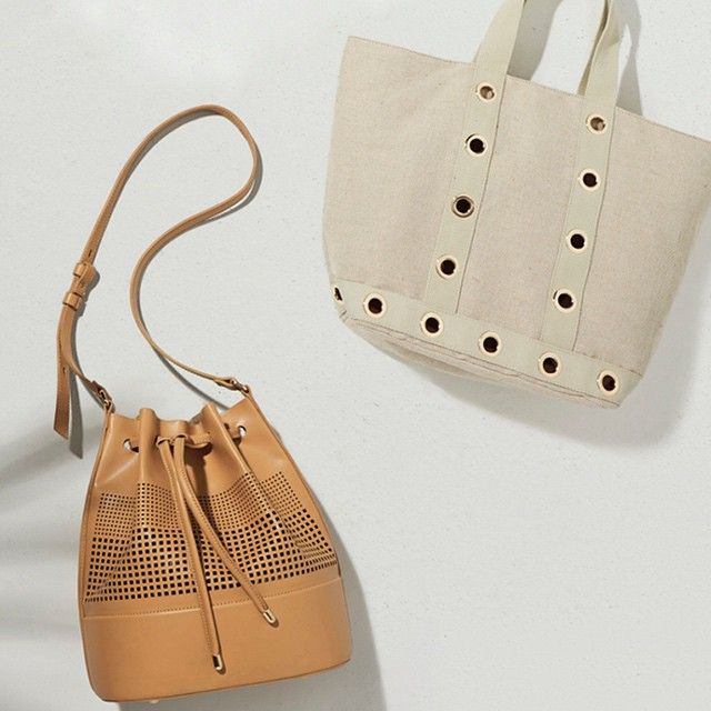 Hold it together with our bucket bag and 70's eyelet tote. #seedheritage