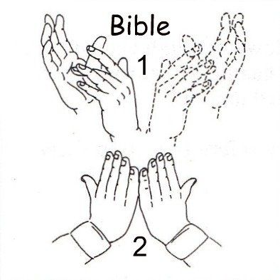 Learn the lords prayer in sign language