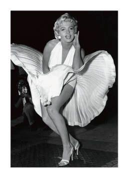 Sam Shaw - Marilyn Monroe (Seven Year Itch) - Kunstdrucke Poster
