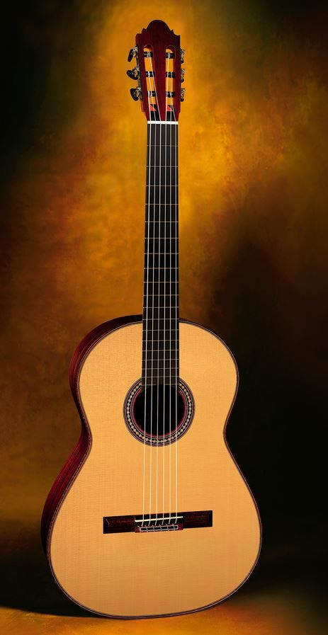 Classical Guitars Thomas Fredholm, Sweden Antonio de Torres 1890 SE 141 Homage cypress/spr. 2008 $8,500.00 Inquire Here: 216.752.7502 Cypress sides and back, European spr. soundboard, ebony bindings, Sloane machine heads, French polish of shellac finish, low very easy action, 650mm string length, hardshell case. #ClassicalGuitar #NewClassicalGuitars #ClassicalGuitarShop #UsedClassicalGuitars #ClassicalGuitarDealer