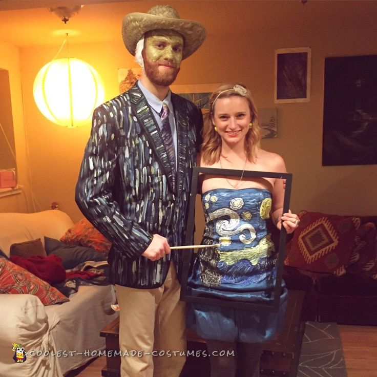 650 best couples halloween costumes images on pinterest couple homemade van gogh and starry night creative couple costume purim costumesawesome halloween costumeseasy solutioingenieria Image collections
