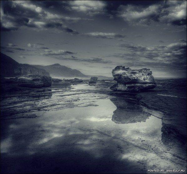 Черно-белые фотографии природы (15 фото)