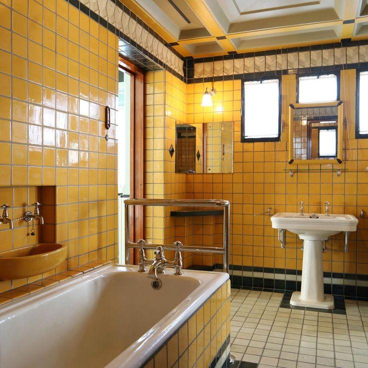17 best images about jaren 30 woning origineel on pinterest utrecht hydrangeas and tuin - Deco hal originele badkamer ...